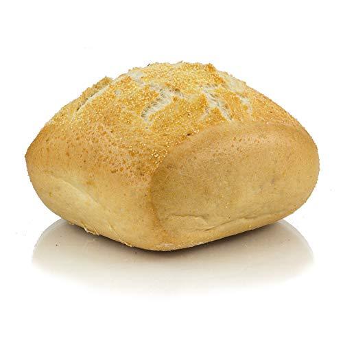 Vestakorn ambachtelijke broodjes, keizerrol – verse broodjes – traditionele tarwebroodjes, 3 stuks, bak in 6 minuten