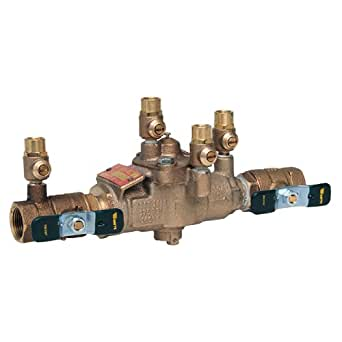 "Watts 3/4"" 009M3 Backflow Preventer Reduced Pressure Zone Assembly RPZ 3/4 009-QT 0063030 63030"