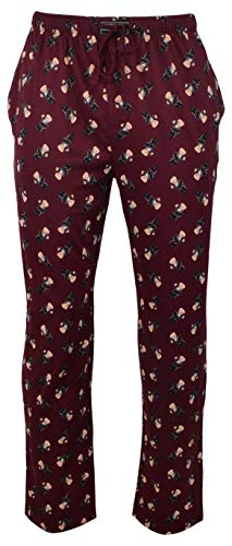 Polo Ralph Lauren Tuxedo Bear w/Martini Pajama Pants, Wine, Small