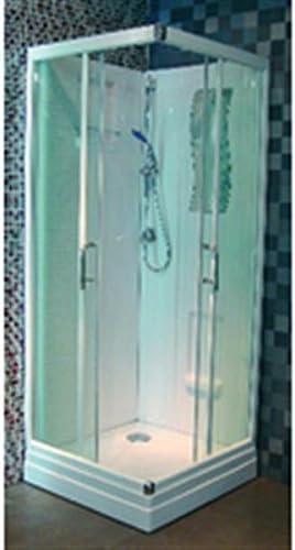 Cabina de ducha CONCERTO, 90 x 90 cm, diseño de acceso de ángulo ...