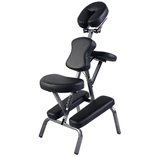 ht Weight Massage Chair Travel Massage Tattoo Spa Chair w/ Carrying Bag (Folding Massage Chair)
