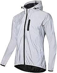 Cycling Windbreaker Jacket Women Men Reflective Waterproof Running Jacket