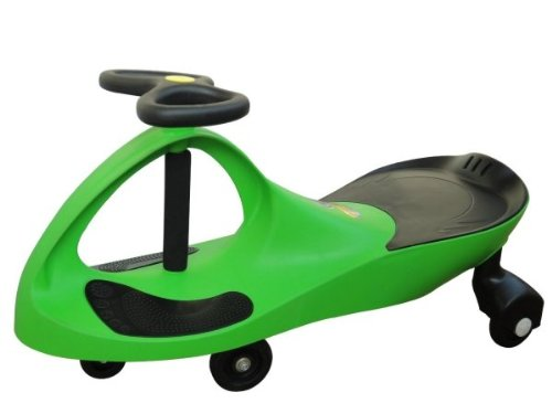 The Original PlasmaCar by PlaSmart  Lime  Ride On Toy, Ages 3 yrs and Up, No batteries, gears, or pedals, Twist, Turn, Wiggle for endless fun