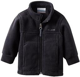 Columbia Baby Boys\' Steens Mt II Fleece, Black, 6-12 Months