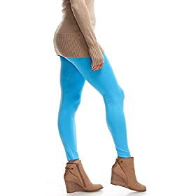 - 41ic6DtOf9L - LMB | Seamless Full Length Leggings | Variety Colors | One Size