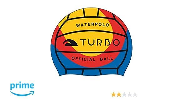 Gorro de natación TURBO WP Fútbol - Agua aspecto: Amazon.es: Deportes y aire libre