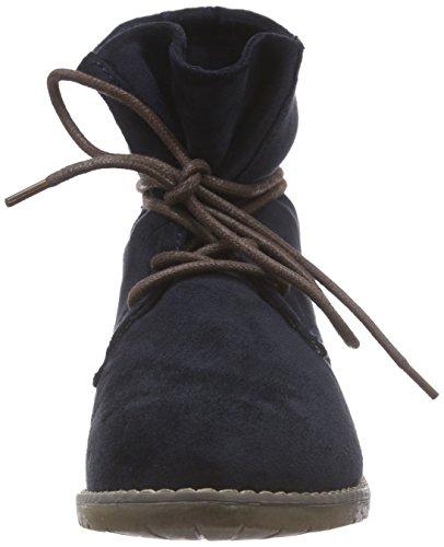Jane Klain 252 169 - botas desert de terciopelo mujer azul - Blau (Navy 838)