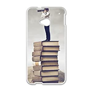 Book Stair Fashion Personalized Phone Case For HTC M7 wangjiang maoyi