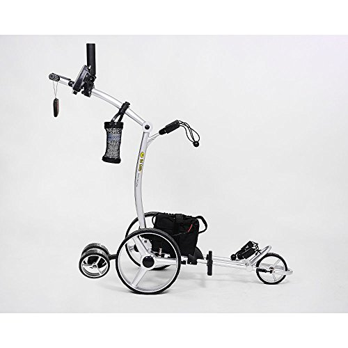 Bat-Caddy X4R Remote Control Golf Cart/Trolley w/ Deluxe Accessory Kit & Mountain Slayer Anti-Tip Bar from In The Hole Golf -