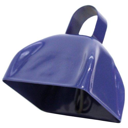 U.S. Toy One School Spirit Metal Blue Cowbell -