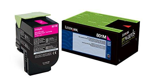 Lexmark 80C10M0 Magenta Return Program Toner