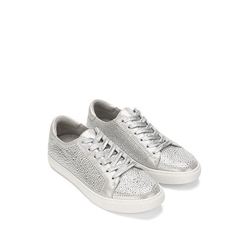 Silver York Shine Women's Kam Cole New Kenneth Women's Sneaker Embellished Ew1Hxzq