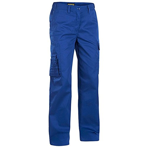 712018008500C38 Woman Trousers Size 29/32 (Metric Size C38) IN Cornflower Blue by Blaklader