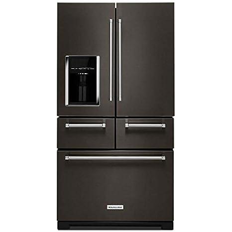 Amazon.com: KitchenAid KRMF706EBS KRMF706EBS 25.8 Cu. Ft. Black ...