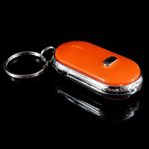 Sonline Silbato Buscador para Llave Localizador Remoto LED Intermitente Pitido Encontrar Llaves Perdidas