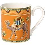 Villeroy & Boch Samarkand Mandarin Jarra de 300 ml, Porcelana, Blanco, 7x7x8 cm