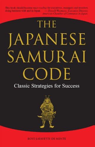 The Japanese Samurai Code: Classic Strategies for Success Pdf