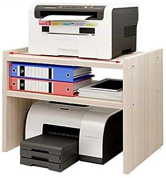 AZWE Impresora de sobremesa Soportes impresora estante de ...