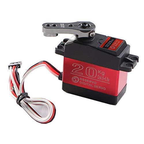 AmyDong DS3218 270 Degree Digital RC Servo 20KG Torque Waterproof Metal RC Servo Motor