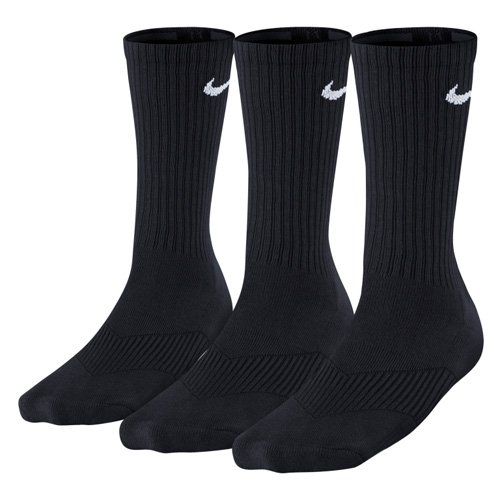 - Nike Performance Crew Kids' Socks (3-Pack) Black/White Sz Medium 5Y-7Y