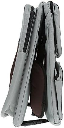 Gris Flyelf 3 en 1 sac /à couches Voyage Bassinet b/éb/é Voyage Bassinet//Diaper Bags Portatif