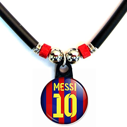 Lionel Messi Soccer Jersey Necklace