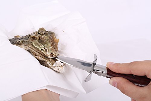 Oyster Knife - Oyster Shucking Knife - Oyster Shucker - Oyster Opener - Oyster Clam Pearl Shell Shucking Knife and Opening Tool – Includes 27 Recieps by GoodSend (Image #5)
