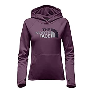 The North Face Women's Fave Half Dome Pullover Hoodie Amaranth Purple/Dark Eggplant Purple Multi M