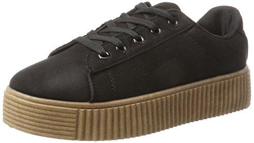 Hailys Damen SN Paula Sneaker Schwarz (Black)