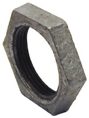 B & K/Mueller Inds(Import) 510-903HC Pipe Fitting, Lock Nut, Galvanized, 1/2-In. - Quantity 40 ()
