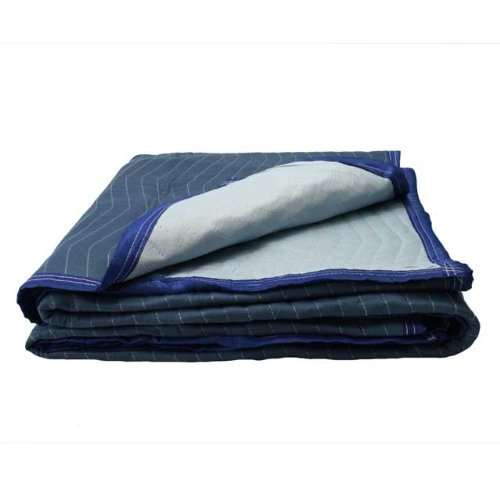 Moving Blanket (12-pack) 72'' X 80'' US Cargo Control - Pro Mover (82 Lbs/dozen, Blue/Light Blue)