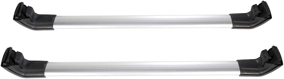 FINDAUTO 2pcs Crossbars fit for 2013-2019 Mitsubishi Outlander OE Style Top Rail Roof Rack Aero Aluminum Cross Bars Luggage Rack Rail