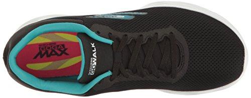 Skechers Go Walk Zip Mujer US 7.5 Negro Zapatos para Caminar