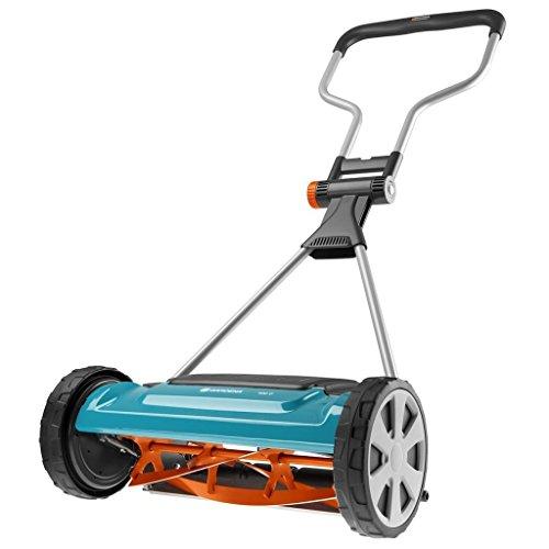Hand Cylinder Mower (Gardena 04022-20 Comfort - 400 C Hand Cylinder Lawnmower - Blue/Grey/Orange by Gardena)