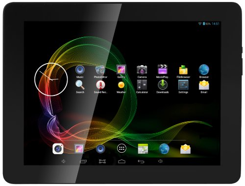 "AudioSonic TL-3497 Tablet 9,7"" - Noir/Metallic (Import Europe)"