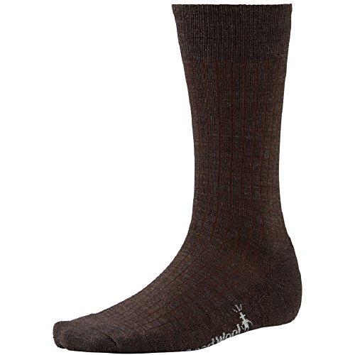 Smartwool Casual Rib Socks (Smartwool Men's New Classic Rib,Chestnut,US XL)