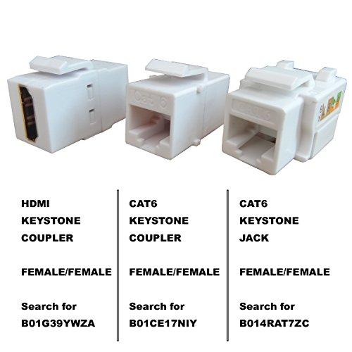 Generic Keystone Jack Rj45 Ethernet Module Cat6 Network