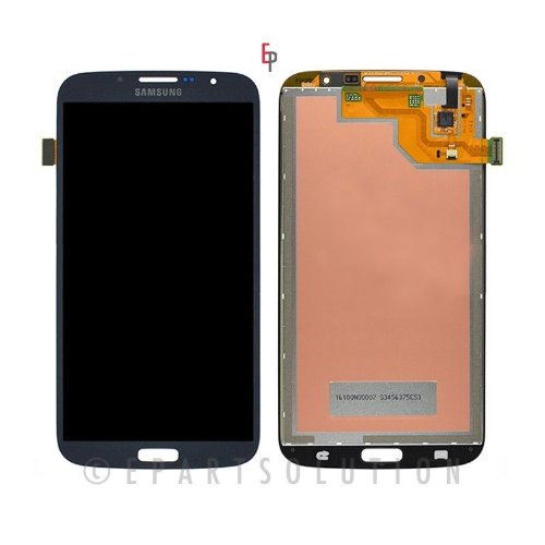 ePartSolution-Samsung Galaxy Mega 6.3 i527 i9200 i9205 LCD Touch Screen Digitizer Assembly Blue Replacement Part USA Seller