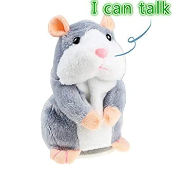 Amazon Com Talking Hamster Plush Toy Repeat What You Say Funny