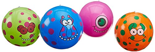Fun Express Monster Beach Balls (1
