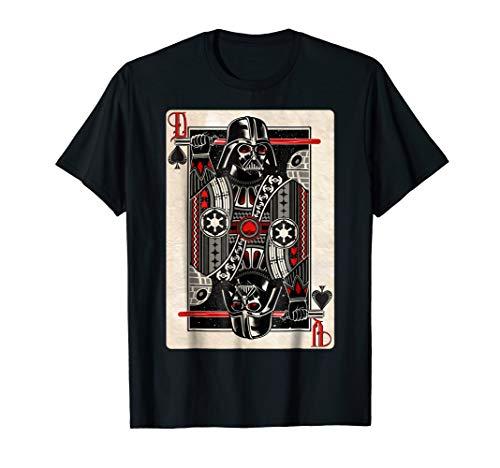 Star Wars Darth Vader King of Spades Graphic T-Shirt ()