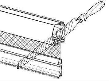 emp/êche Les intrusions d/'Insectes PALMAT Moustiquaire Ajustable pour fen/être 160 x 110 x 5 Blanc cm