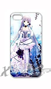 chobits X&TLOVE DIY Snap-on Hard Plastic Back Case Cover Skin for Apple iPhone 5 5G - 3828