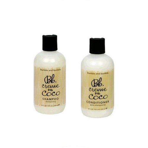 - Bumble And Bumble Crème De Coco Shampoo, 8-Ounces & Conditioner 8-Ounces, Bottle