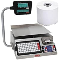 Torrey LSQ-40L Label Thermal Printing Scale / 1 Case Torrey Blank Label, electronic, elevated LCD display,NTEP, Legal For Trade