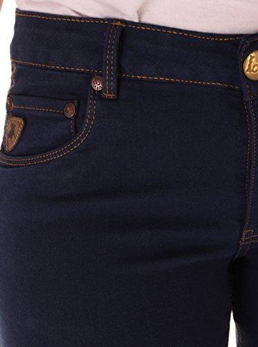 Blu Lois Jeans Scuro 26w Donna zzpq4T