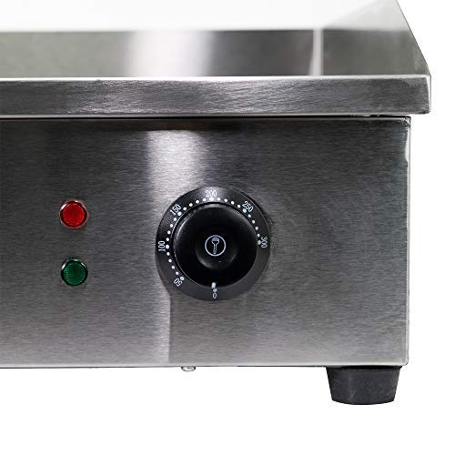WYZworks Commercial Electric Counter Griddle Manual Temperature Adjustable Thermostatic Control Plug In Go Steak Oven by WYZworks (Image #1)