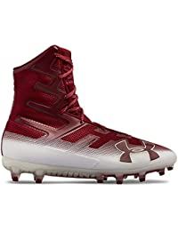 Mens UA Highlight MC Football Cleats 13 Cardinal