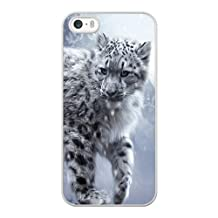 White Snow Leopard Cub iPhone 4 4s Case White iPhone 4 4s Cover SDFJIJ8385267