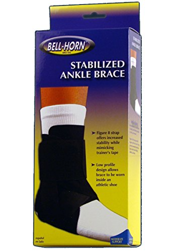 Stabilizing Ankle Brace Black Size